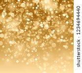 snowflakes and stars descending ... | Shutterstock . vector #1234694440