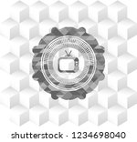 old tv  television icon inside... | Shutterstock .eps vector #1234698040