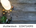aromatherapy background with... | Shutterstock . vector #1234714393