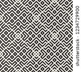 ethnic pattern vector design.... | Shutterstock .eps vector #1234729900