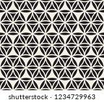 vector seamless pattern. modern ... | Shutterstock .eps vector #1234729963