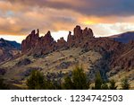 Hoodoos In Wyoming In The...