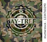 bay tree written on a... | Shutterstock .eps vector #1234763290
