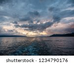 sunset and cloudscape over... | Shutterstock . vector #1234790176