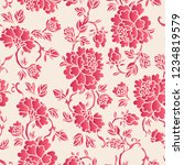 elegant seamless chinese style... | Shutterstock .eps vector #1234819579