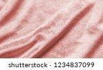 rose gold pink velvet... | Shutterstock . vector #1234837099