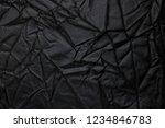black crinkle background | Shutterstock . vector #1234846783