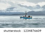 homer  ak   aug 23  2018  a... | Shutterstock . vector #1234876609