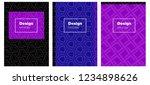 light blue  red vector cover...   Shutterstock .eps vector #1234898626