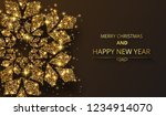 merry christmas and happy new... | Shutterstock .eps vector #1234914070