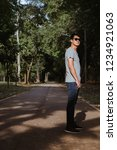 young man  on the street  | Shutterstock . vector #1234921063