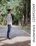 young man  on the street  | Shutterstock . vector #1234921069