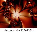fractal image of a flower | Shutterstock . vector #12349381
