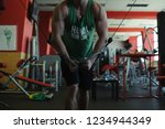 young sexy male bodybuilder...   Shutterstock . vector #1234944349