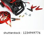 top view of battery terminal... | Shutterstock . vector #1234949776