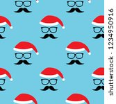vector seamless pattern with... | Shutterstock .eps vector #1234950916