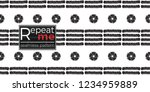 tribal stripes and tiny dots.... | Shutterstock .eps vector #1234959889
