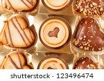 heart cookies | Shutterstock . vector #123496474