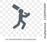 cricket icon. trendy flat... | Shutterstock .eps vector #1234992409