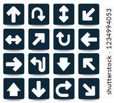 arrow vector icon set | Shutterstock .eps vector #1234994053