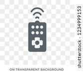 remote control icon. trendy... | Shutterstock .eps vector #1234999153