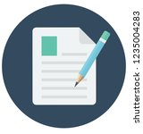 edit file vector icon that can ... | Shutterstock .eps vector #1235004283