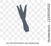 lemongrass icon. trendy flat... | Shutterstock .eps vector #1235024533