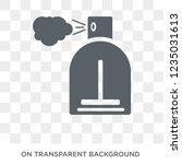 perfume icon. trendy flat... | Shutterstock .eps vector #1235031613