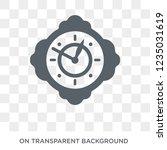 pocket watch icon. trendy flat...   Shutterstock .eps vector #1235031619