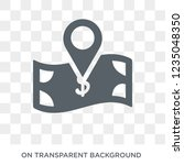 replacement value icon. trendy... | Shutterstock .eps vector #1235048350