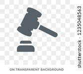 legal expenses icon. trendy... | Shutterstock .eps vector #1235048563