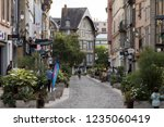 troyes  france   august 31 ... | Shutterstock . vector #1235060419