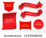 merry christmas celebration... | Shutterstock .eps vector #1235068630