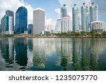 architecture with water... | Shutterstock . vector #1235075770