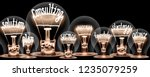 Photo of light bulbs with...