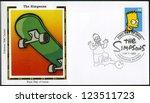 Usa   Circa 2009  A Stamp...