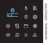 task icons set. periodic breaks ...
