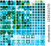 chaos colored mosaic on glass    Shutterstock .eps vector #1235131270