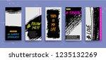 set of creative universal... | Shutterstock .eps vector #1235132269