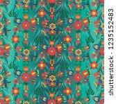 vector background with... | Shutterstock .eps vector #1235152483