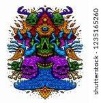 vector illustration of a...   Shutterstock .eps vector #1235165260