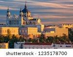 madrid. image of madrid skyline ...   Shutterstock . vector #1235178700