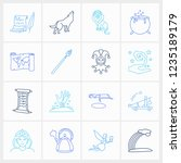 imagination icon set and...