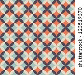 seamless flower pattern... | Shutterstock .eps vector #123519370
