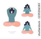 set of vector illustration of a ... | Shutterstock .eps vector #1235206183