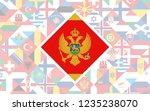 flag background of european... | Shutterstock .eps vector #1235238070