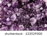 amethyst closeup background ... | Shutterstock . vector #123529300
