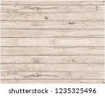 old wood wall with beautiful... | Shutterstock . vector #1235325496
