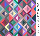 seamless pattern with abstract... | Shutterstock .eps vector #1235341306