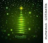 beautiful glitters merry... | Shutterstock .eps vector #1235366506